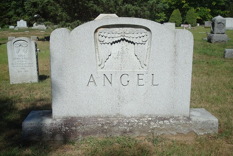 Angel monument