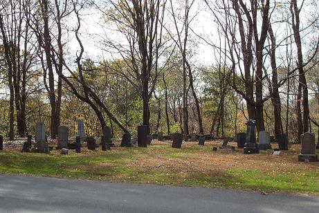 View of Botsford Cemetery
