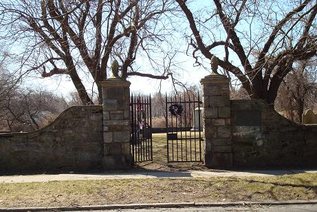 Old Burying Ground gates